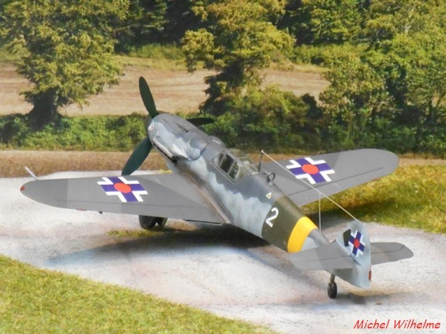 "MESSERSCHMITT 109  G.6 ""SLOVAK""                           AZ MODEL 1:72 2010120921075625617078592"