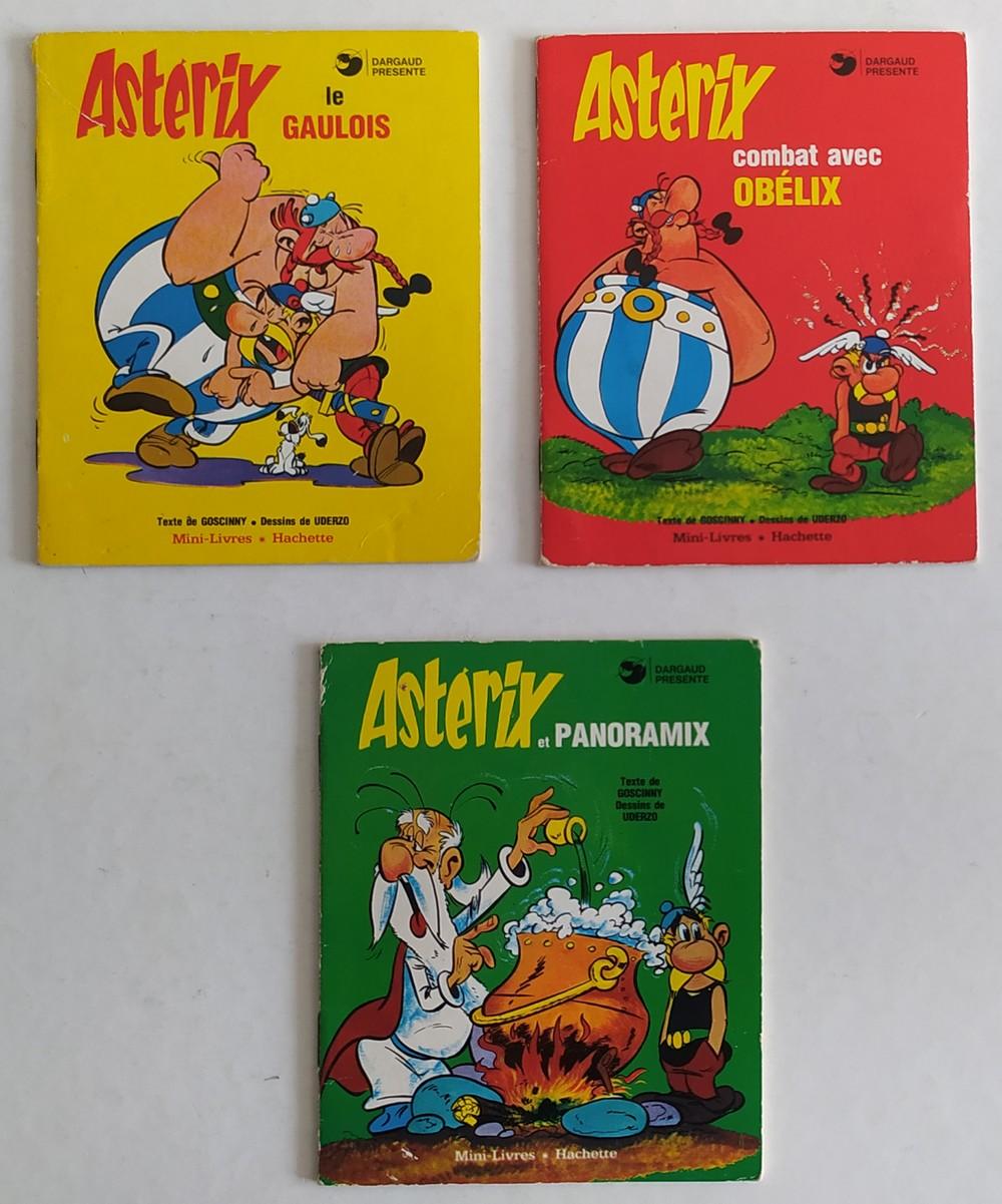 1978 mini livre astérix