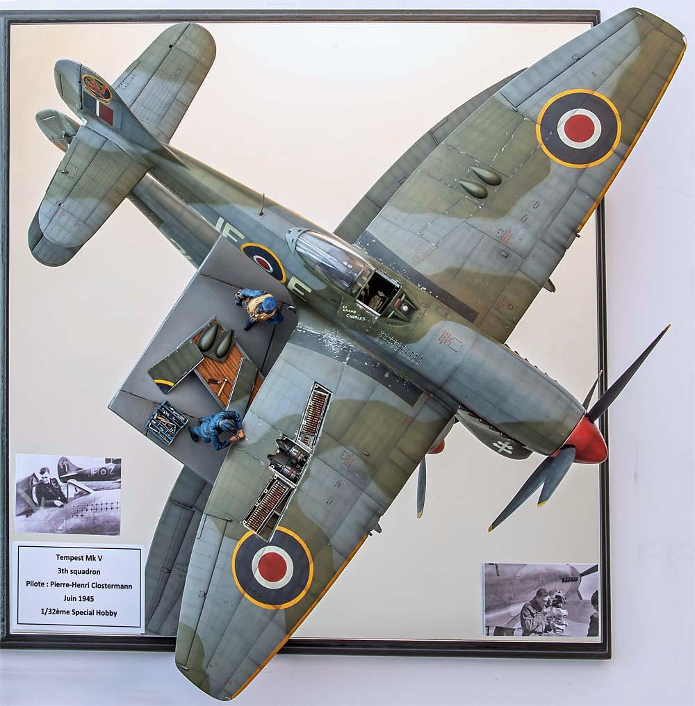 Figurines de pilotes et de mécaniciens ww2 + maquettes d'avions 20102111203814703417090657