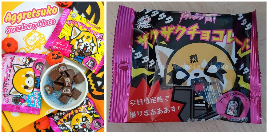 aggretsuko chocolate