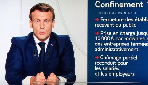 Ha parlato l'Imperatore Macron 1er