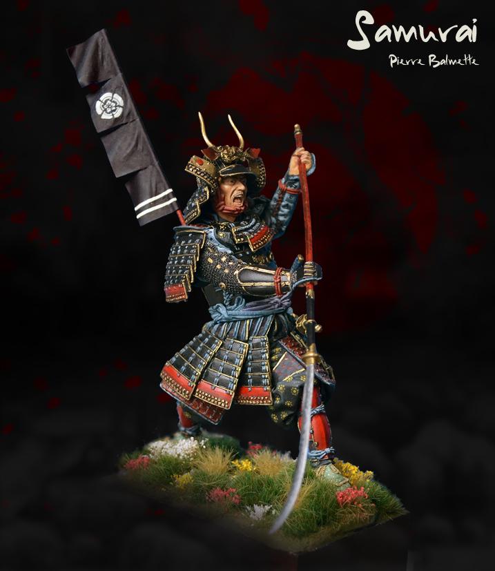 Samurai avec naginata - Pegaso 90mm 20110808172411800717117145