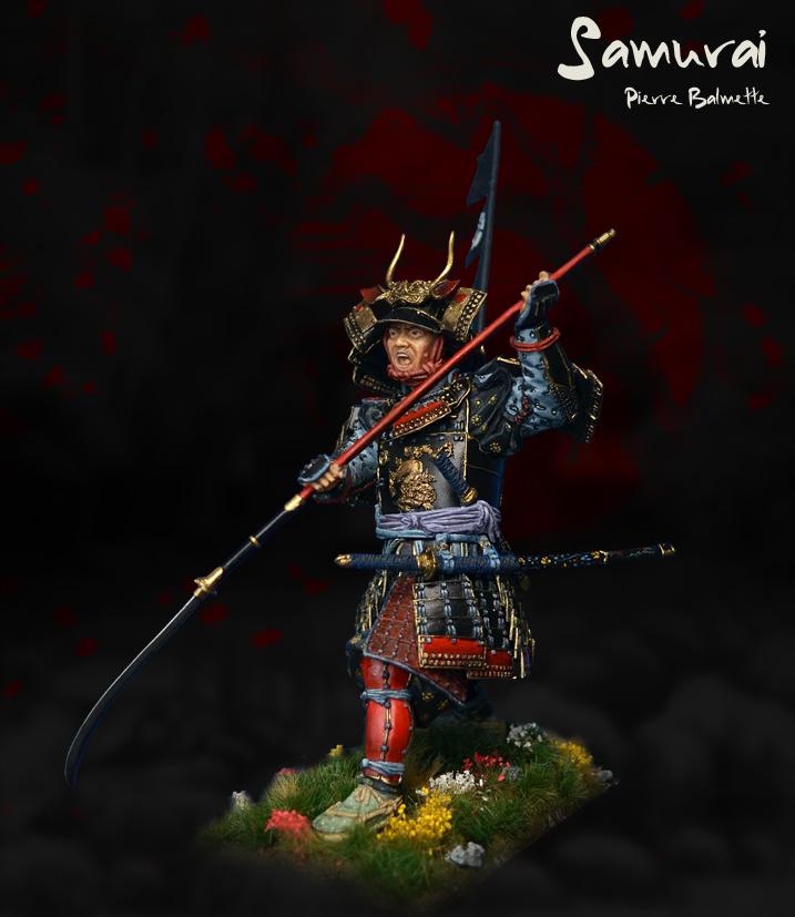 Samurai avec naginata - Pegaso 90mm 20110808172811800717117147