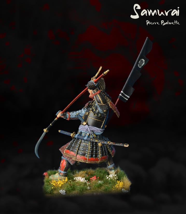 Samurai avec naginata - Pegaso 90mm 20110808173211800717117148