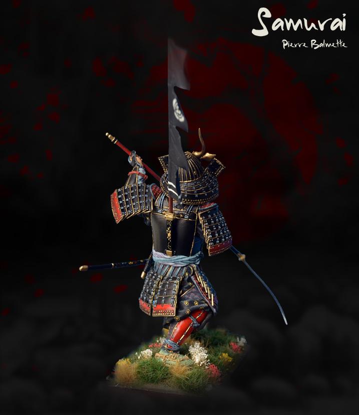Samurai avec naginata - Pegaso 90mm 20110808173711800717117150