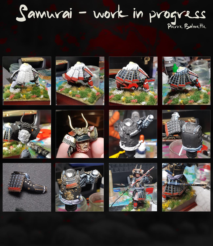 Samurai avec naginata - Pegaso 90mm 20110808174711800717117151