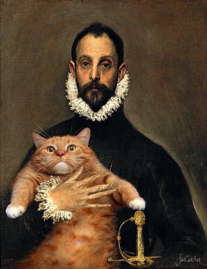 El_Greco_The-Nobleman-with-his-Hand-on-his-Cat-w