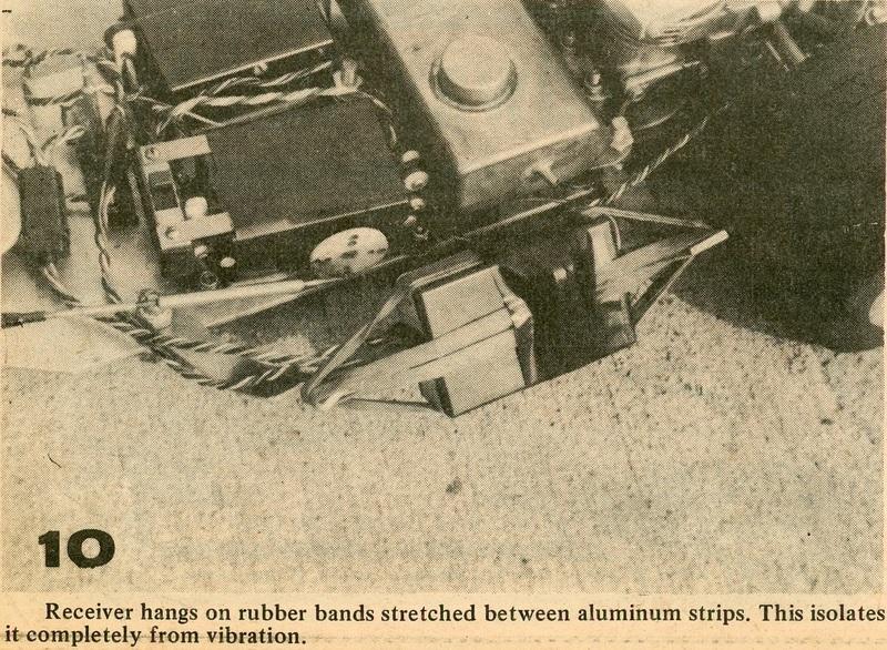Miniature Auto Racing N°8 mars 1971-Asso RC1-détail 10