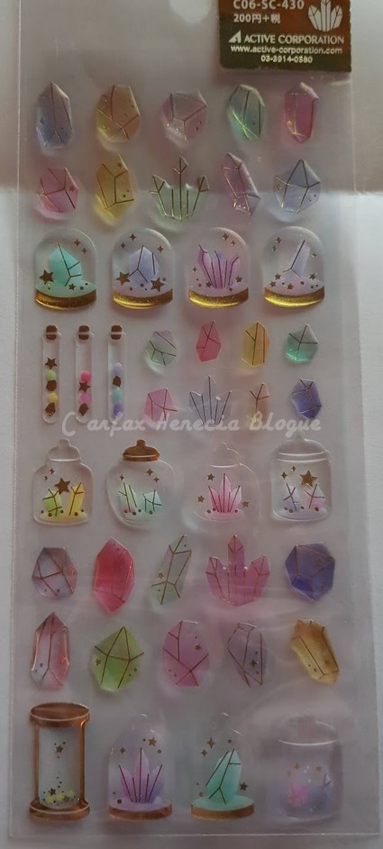 stickers cristaux