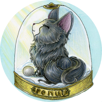 badge Sebhmet rond