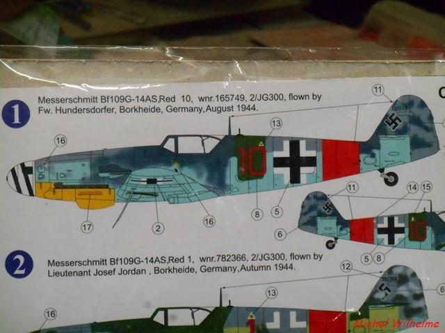 MESSERSCHMITT BF 109 G-14.AS kit AZmodel 1/72 2012040414085625617157093