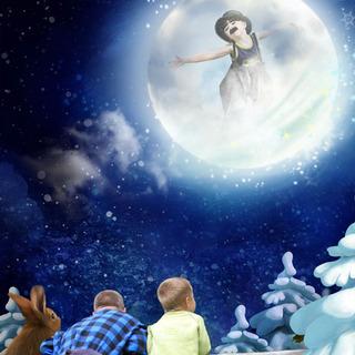 FULL MOON NIGHT IN WINTER - lundi 30 novembre / monday november 30th 20121111293419599817166628