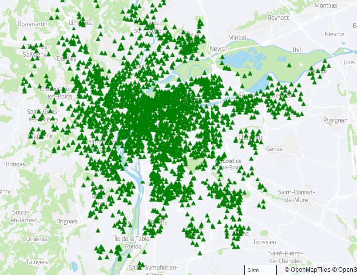 aperçu carte interactive