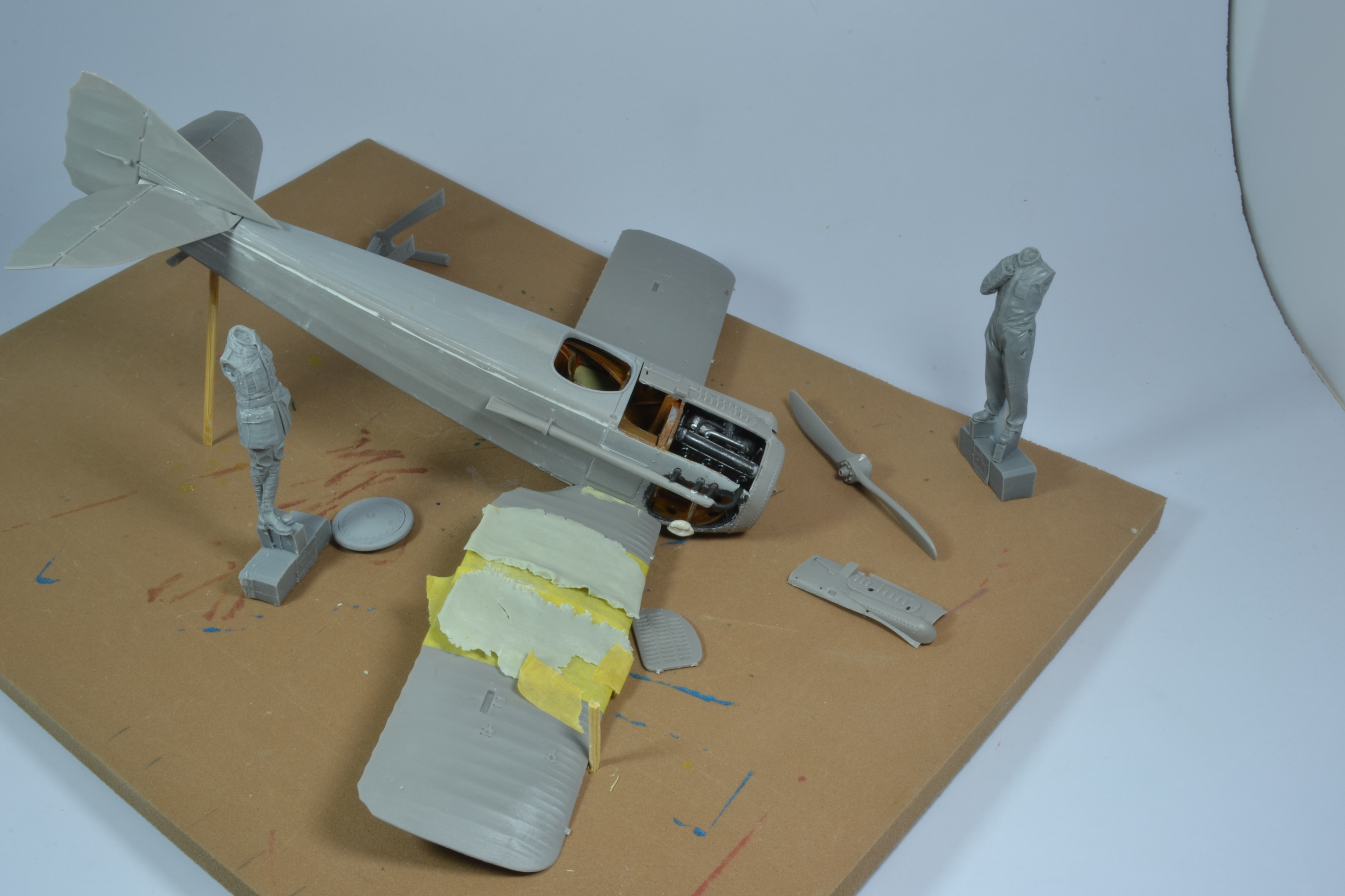 SPAD VIIc1 (RODEN 1/32) 20122011592922494217180419