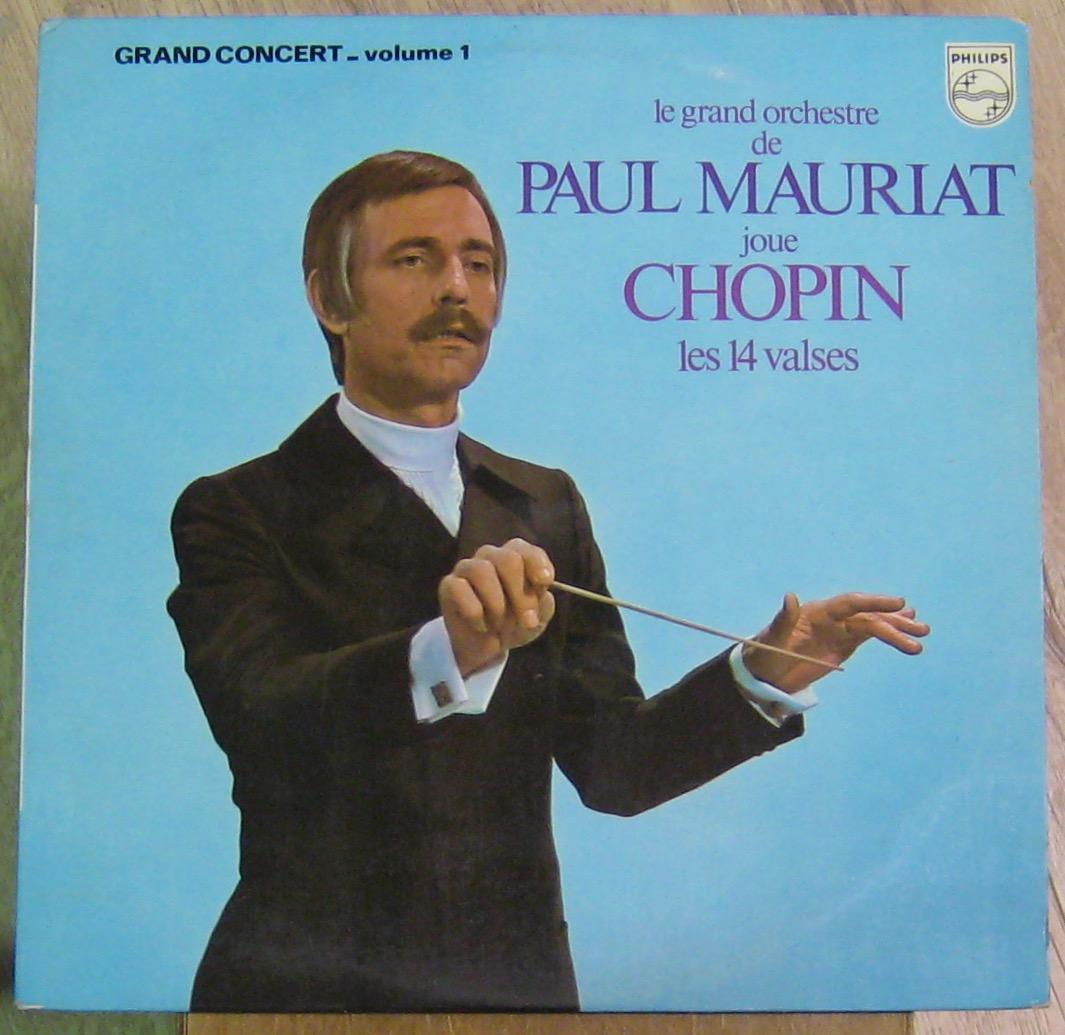 MAURIAT PAUL ET SON GRAND ORCHESTRE - Joue Chopin - Les 14 valses - 33T