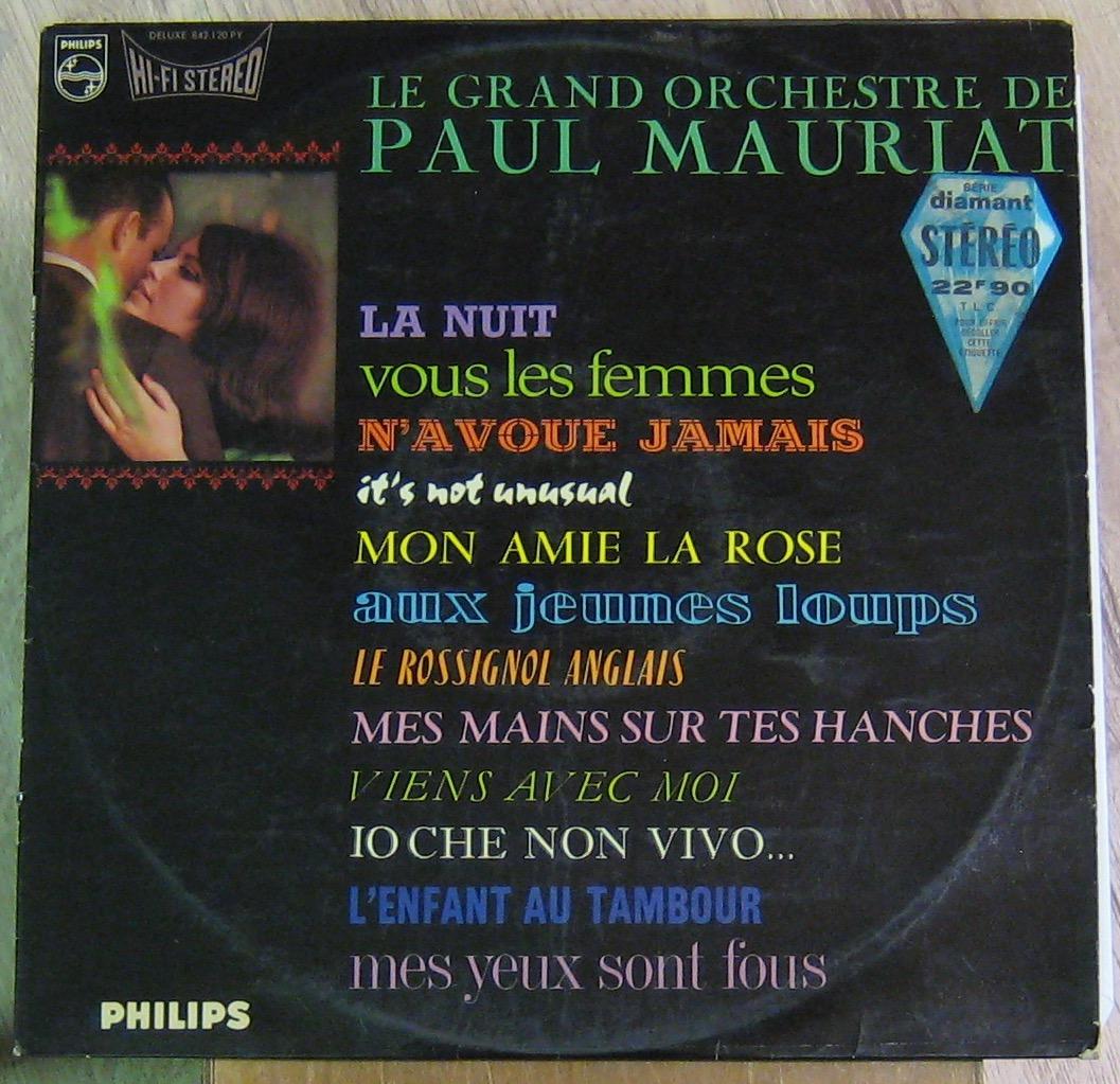 MAURIAT PAUL ET SON GRAND ORCHESTRE - La nuit - 33T