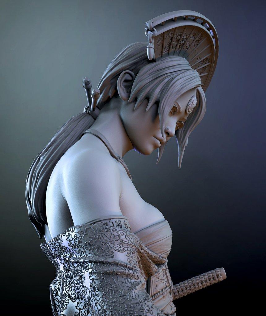 Katsumi 1/10ème Ritual Casting par Logan 21011905111114703417220948