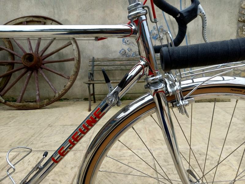 Lejeune Reynolds 531 3 tubes conversion randonneuse 210123052217721917226272