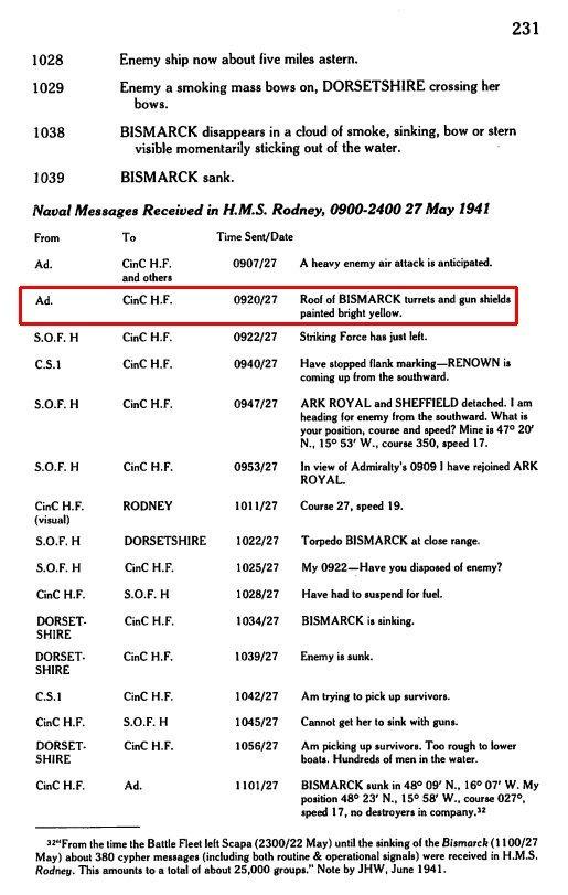 DKM Bismarck 1/350 Trumpeter + PE Eduard - Page 5 VvOdLb-Bismarck-yellow-turrets
