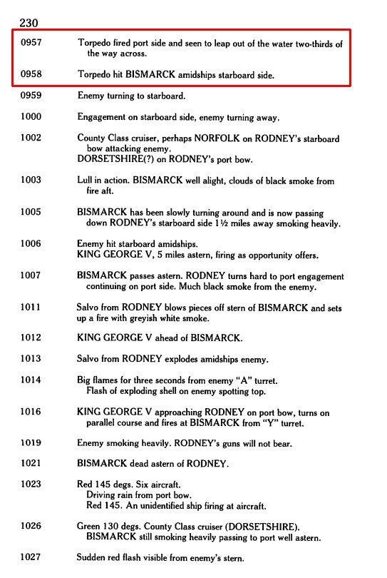 DKM Bismarck (Trumpeter 1/350 + PE Eduard) par horos - Page 5 WvOdLb-Rodney-torpedoing-Bismarck-2