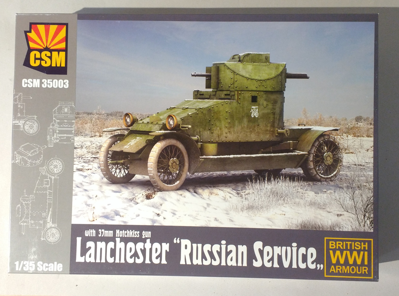 Lanchester russe au 1/35 (ref CSM35003) FpFhLb-Boite01