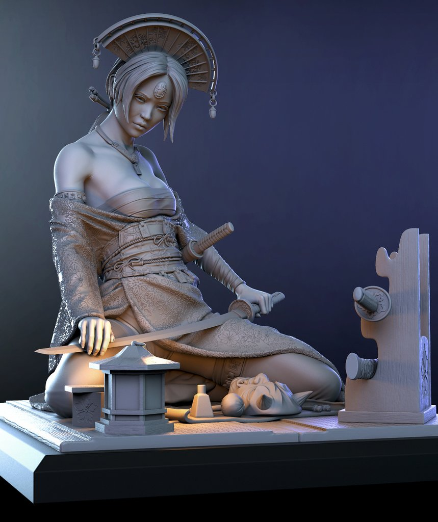 Katsumi 1/10ème Ritual Casting par Logan 21021504425214703417263480