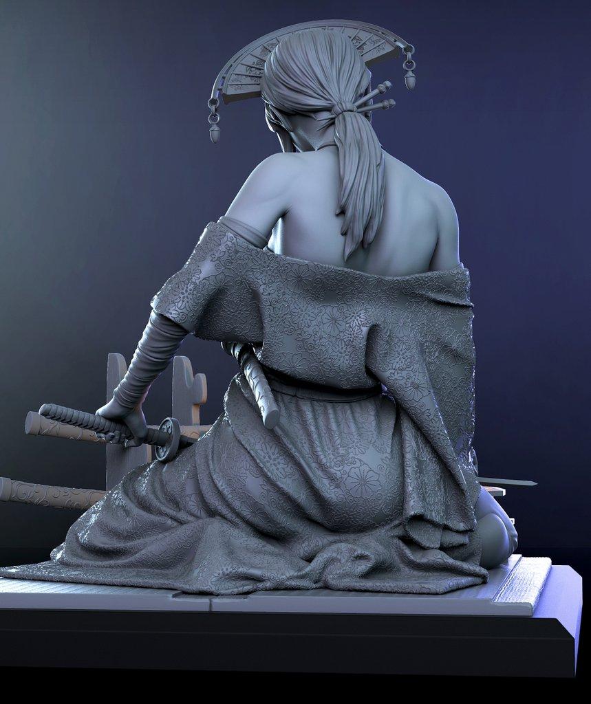 Katsumi 1/10ème Ritual Casting par Logan 21021504425214703417263481