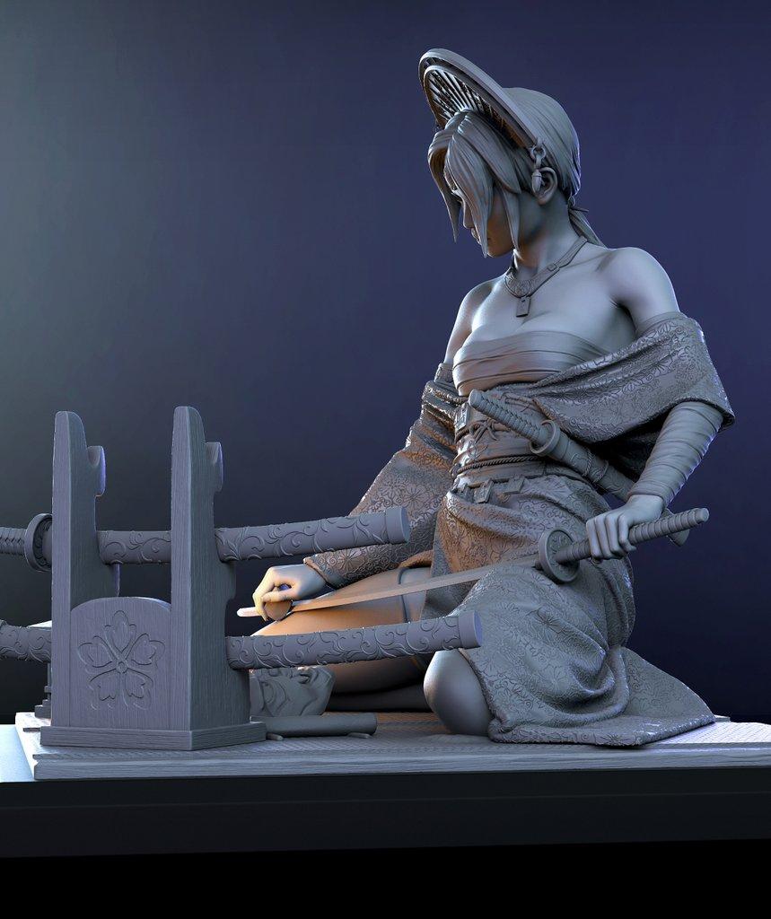 Katsumi 1/10ème Ritual Casting par Logan 21021504425214703417263482