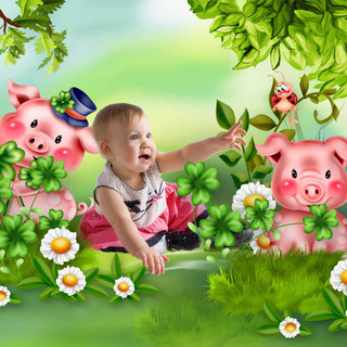 LITTLE PIG BRINGS GOOD LUCK - lundi 22 février / monday february 22th 21022208475219599817275183