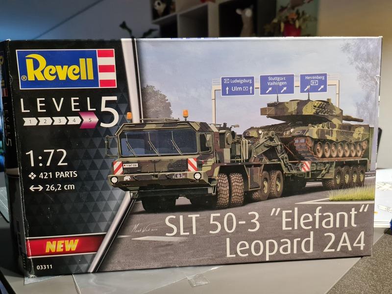 "SLT 50-3 ""Elefant"" et Leopard 2A4 1/72 Revell 21022309090324268717280410"