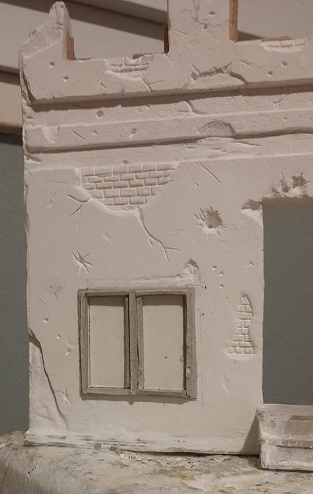 Le bâtiment - 1/35 Scratch 21022810194025838217287991