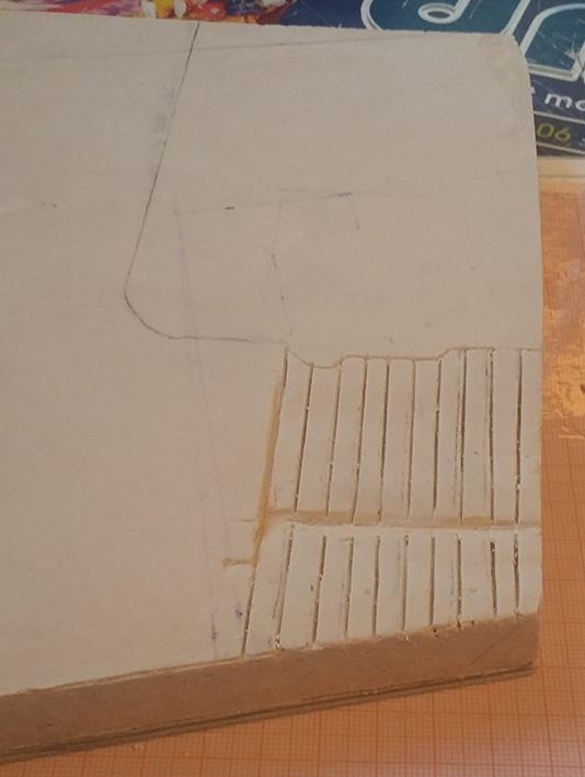 Le bâtiment - 1/35 Scratch 21030309023225838217293502