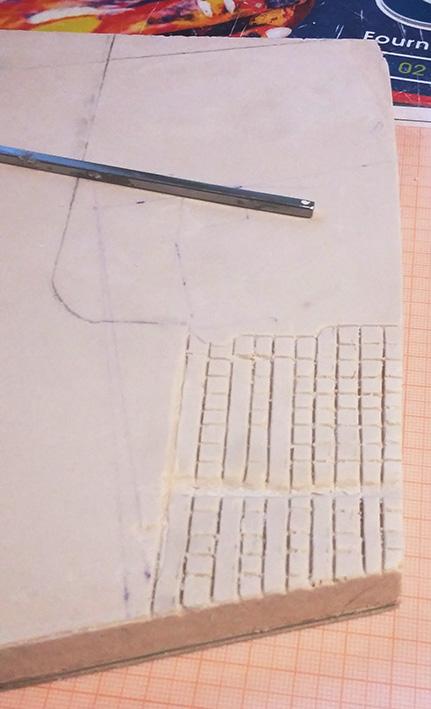 Le bâtiment - 1/35 Scratch 21030309024225838217293503