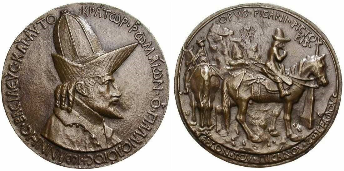 Médaille Jean VIII Paléologue