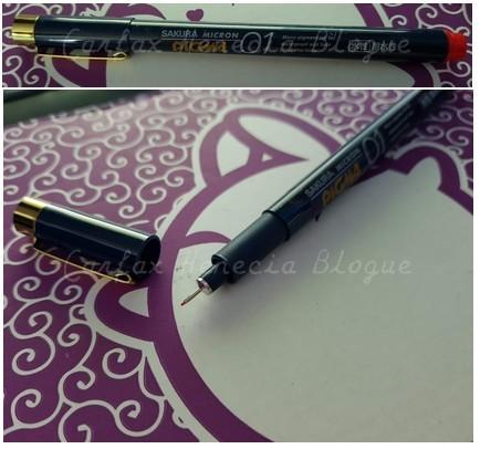 stylo micron pigma