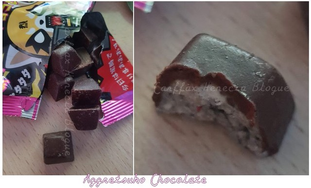 aggretsuko chocolate