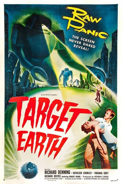POSTEROÏDE - Target Earth dans Cineteek 9PszLb-1