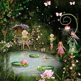 SWEET FAIRY GARDEN - lundi 19 avril / monday april 19th 21041907224119599817377044