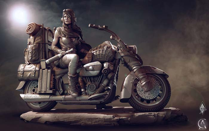 Road Girl/Rat bike - 75 mm 21050205471914703417398315