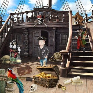 THE PIRATES AND THE MYSTERY OF THE FOUNTAIN - jeudi june 17th / jeudi 17 juin 21062510143219599817474228
