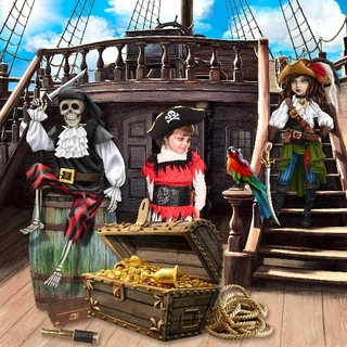 THE PIRATES AND THE MYSTERY OF THE FOUNTAIN - jeudi june 17th / jeudi 17 juin 21062510143919599817474230