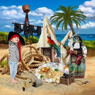 THE PIRATES AND THE MYSTERY OF THE FOUNTAIN - jeudi june 17th / jeudi 17 juin 21062510144619599817474233