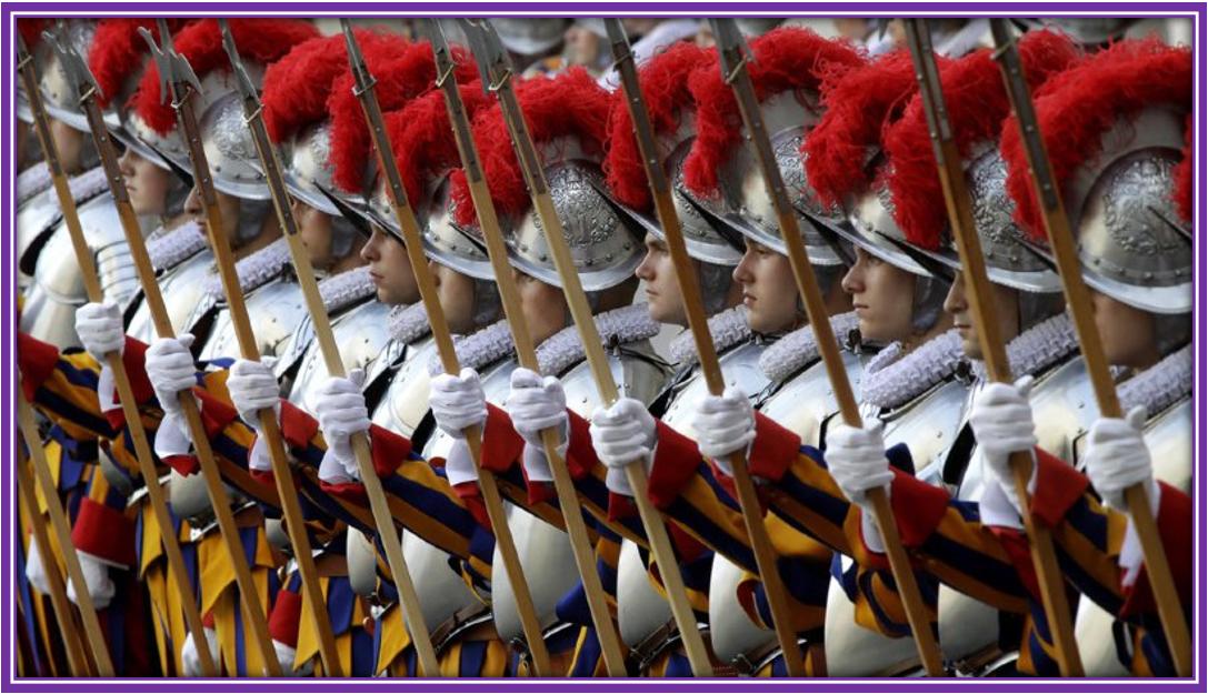 Soldats de la Garde Vunderlaise