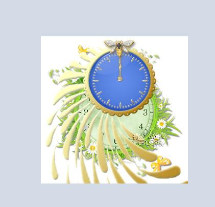 2 : Horloge à aiguilles simple OpvmMb-horloge-simple10