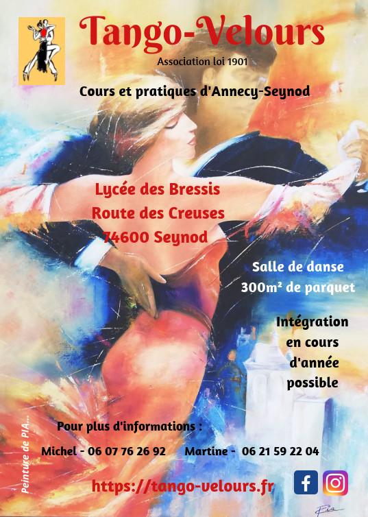 Cours d'initiation au tango argentin