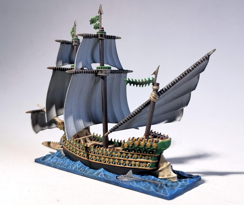 Dreadfleet : des navires dans le monde de Warhammer EkOvMb-Espadon02