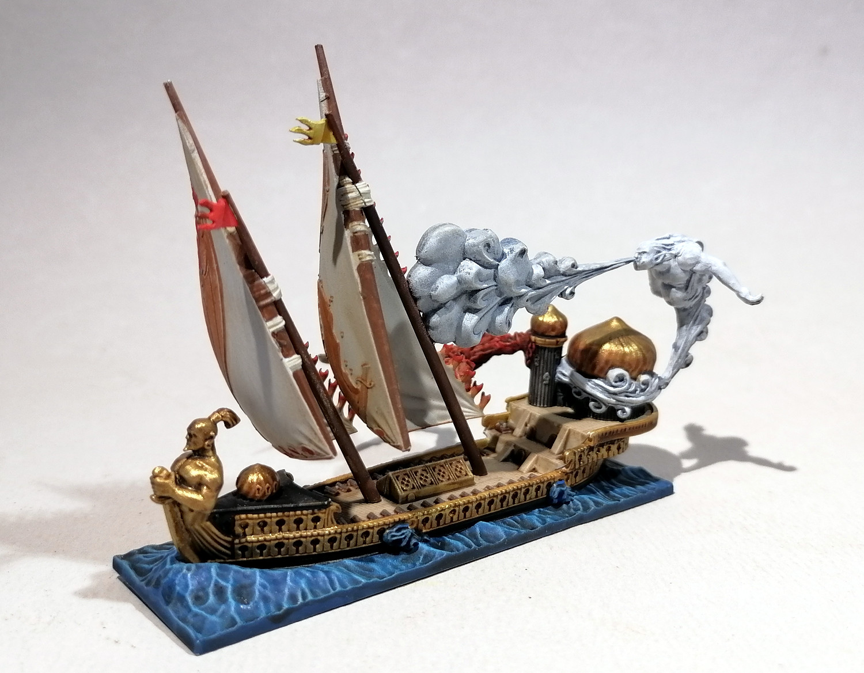 Dreadfleet : des navires dans le monde de Warhammer XT70Mb-Mage03