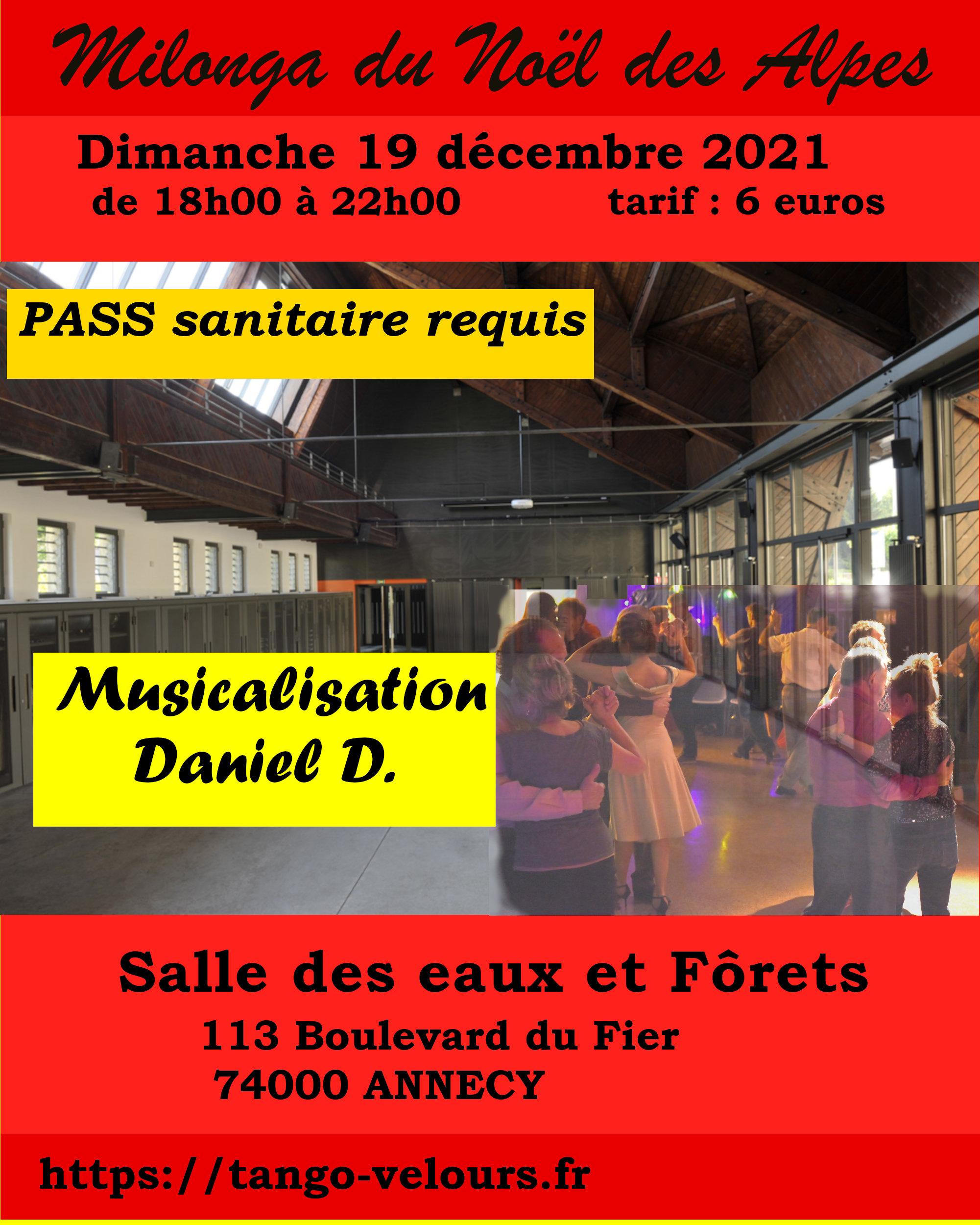 milonga du Noël des Alpes - musicalisation Daniel D.