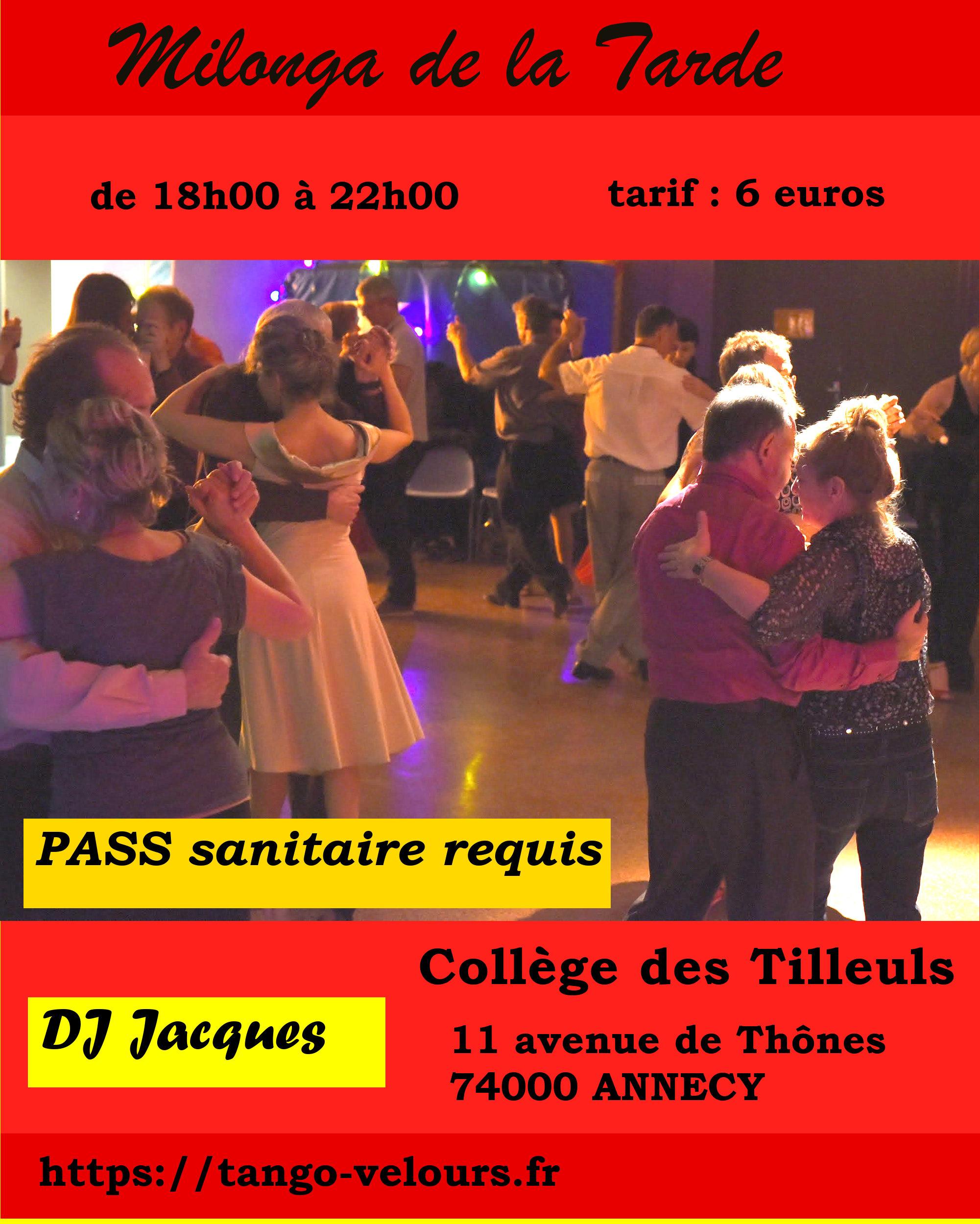 milonga de la Tarde - DJ Jacques