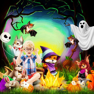 HALLOWEEN WITH THE FRIENDS OF THE FOREST - jeudi 14 octobre / thursday october 14th 21101508324919599817616711